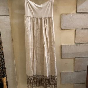 Maxi Fringe Skirt